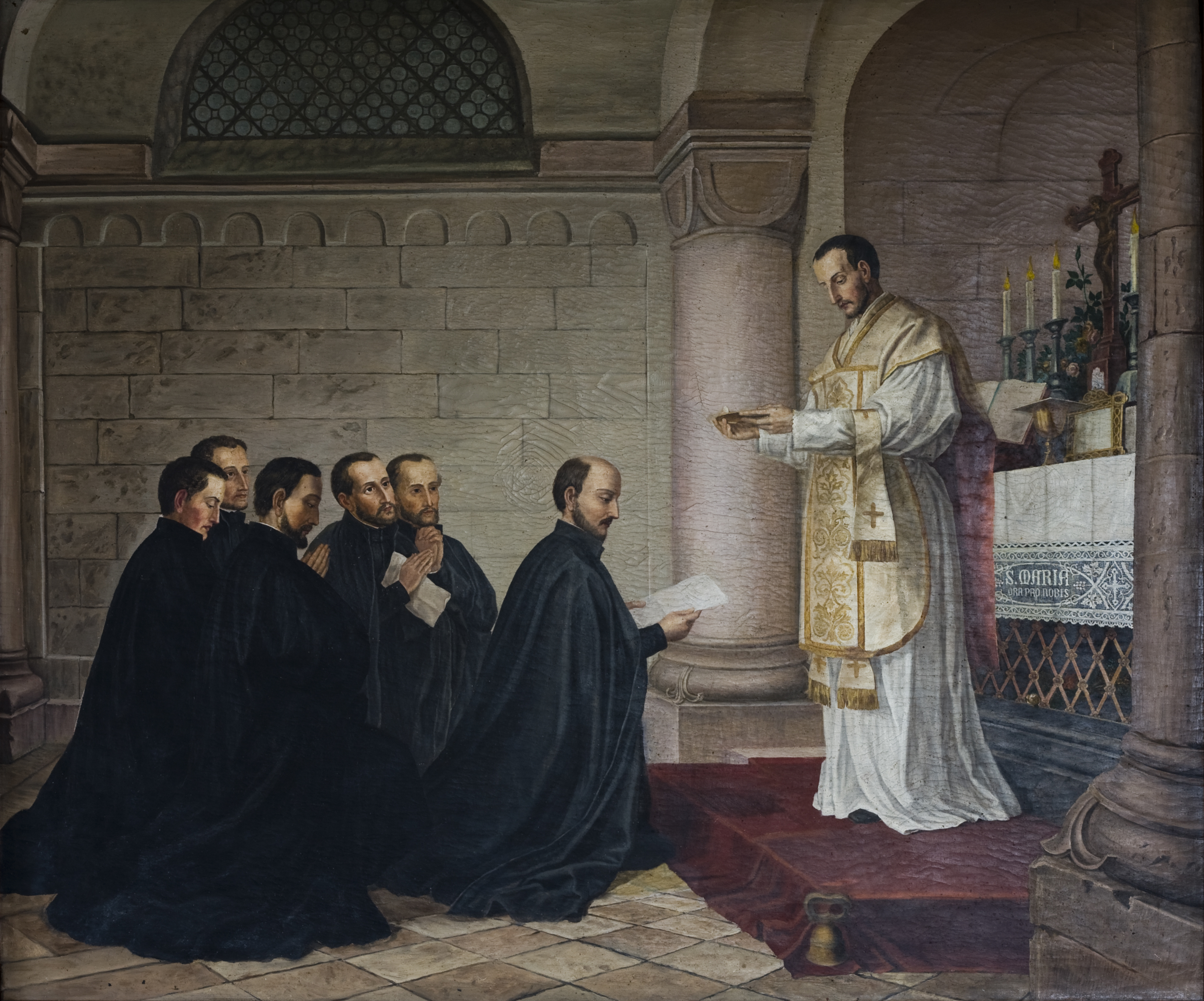 the society of jesus the jesuits religion essay Cluded the imposition of the roman catholic religion by force of arms this forced   tions for the jesuit policy of adapting their missionary methods and their.