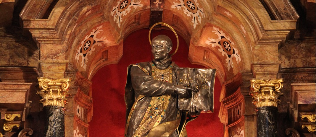 Znalezione obrazy dla zapytania św. Ignacy Loyola