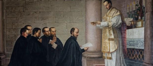 Pierwsze Śluby jezuitów