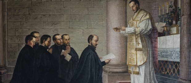 St. Ignatius and his companions first vows